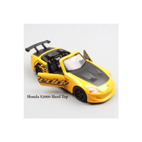 Promo Jada JDM 1/32 - 2001 Honda S2000 Hard Top - yellow