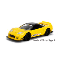 Promo Jada JDM 1/32 - 2002 Honda NSX Type R Japan Spec - yellow