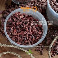 Pipiltin Cocoa NIBS 100g origin Tanazozo FLORES Biji Coklat Cacao Nibs