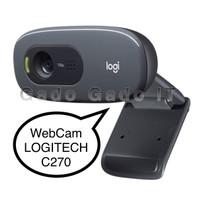WebCam LOGITECH C270 HD 720P Web Camera PC For Streaming,Laptop,PC