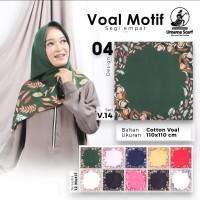 Kerudung/Jilbab/Hijab Voal Motif by Umama Scarf