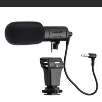 MAMEN Sidande Shotgun Microphone For Camera DSLR Mic-06