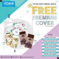 Promo Free Premium Cover Kartu