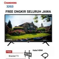 CHANGHONG LED TV 32 Inch HD TV USB/HDMI L32G3
