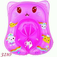 Pelampung Bayi Gee Kingdom Baby Raft Ring - Mikoko 3210