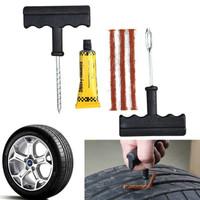 Tire Repair Kit Alat Tambal Ban Tubeless Set Tubles Ban Mobil Alat Dar