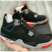 Air Jordan 4 original 100% Black Red BNIB
