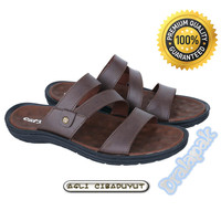 Sendal Slide Kasual Pria Sandal Formal Catenzo RF754