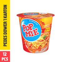 Pop Mie Kuah Pedes Dower 1 Dus/12pcs 1pc 900gr