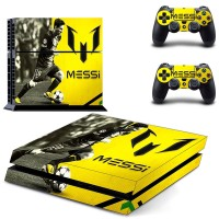 Ronaldo and Messi PS4 Skin Sticker Decal Vinyl for Sony Playstation