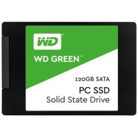 AOD - SSD WD Green 120GB SATA 2.5 inch 7mm - original garansi resmi 3