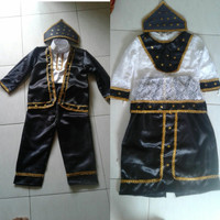 Baju adat maluku // Pakaian adat maluku anak L Lk/ Pr kostum karnaval