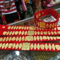 Sortali pinggang // ikat pinggang adat daerah batak karnaval pawai