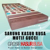 Sarung Kasur Busa / Cover Kasur Busa Motif Gucci Ukuran 160x200x15
