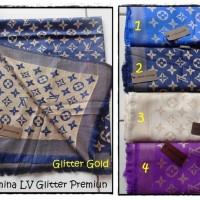Jilbab Pashmina Pasmina LV Glitter Premium