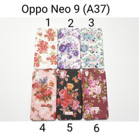 Case Softcase CK Flower For Oppo Neo9 A37 / Soft case Oppo Neo 9 (a37)