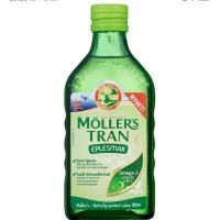 Moller Trans Cod Liver Minyak Ikan Vitamin Anak Apple Vlafour