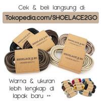 Tali Sepatu Lilin Waxed Cotton Round 3mm SHOELACE 2 GO - 80cm 100cm