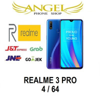 Realme 3 PRO 4/64 RAM 4GB INTERNAL 64GB GARANSI RESMI REALME