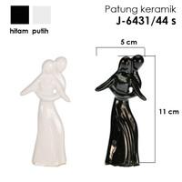 Patung Keramik dekorasi / patung porcelain dance 5 uk 11x5 cm