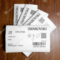 Crystal Swarovski SS20 4.6mm 1440 pcs Clear - NoHotfix Flatback