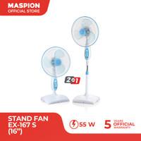 "Maspion Stand Fan 16"" EX - 167 S ( Exclusive )"