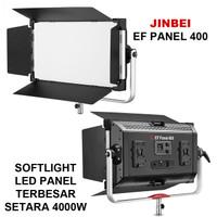 JINBEI EF PANEL 400W LED EFP400 BI COLOR SOFTLIGHT LED EF P400