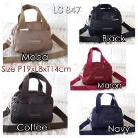 LC847 Tas Wanita Import Hand Bag Longchamp size Mini 5Ruang