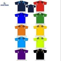 Clear Sale ! Kaos Olahraga Dickwolves Scotti Print Polo (Dasar warna)