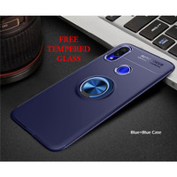 Samsung A10 iRing Invisible TPU Soft Case - Free tempered