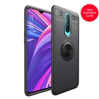 Oppo R17 PRO iRing Invisible TPU Soft Case - Free tempered