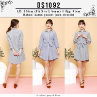 DS1092 Melly Stripes Dress / Tunic