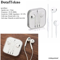 Handsfree Earphone Headset Iphone Earpods