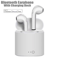 Headset Bluetooth i7S Twins V4.2 Sport True Wireless Earphone Airpods