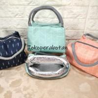 Lunch Bag Cooler Thermal Korea / Tas Bekal Cooler Thermal / Tas Asi