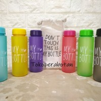 Botol Air Minum My Bottle Doff BPA Free Bonus Kantong / Pouch