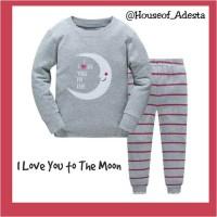 Baju Tidur Anak pakaian Tidur Piyama GAP size 2T