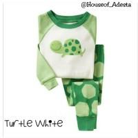 Baju setelan pakaian Tidur Anak Piyama anak GAP size 2T