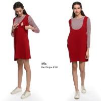 dress Hamil Menyusui Lengan Panjang Iffa
