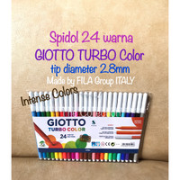 ATK0671GT 24 warna Turbo Color Spidol Giotto COD.072100