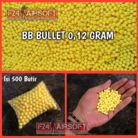 CUCI GUDANG BB Bullet Cyc 0 12 gram Warna Putih Repack isi 500 butir