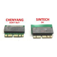 Converter NVMe 12+16 pin NGFF M.2 SSD Card as 2013 2014 2015 MacBook