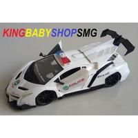 RC Lamborghini Police Car / Mainan Mobil Radio Control