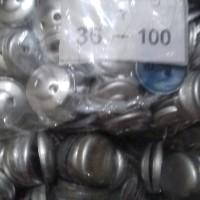 bahan kancing bungkus uk 36 / 23 mm