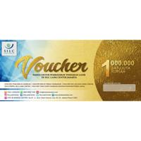 Voucher Pembiayaan Tindakan Lasik di SILC LASIK CENTER Rp 1 juta