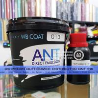 ANT Direct Emulsion WB Coat 013 1kg   Obat Afdruk Sablon Water Based