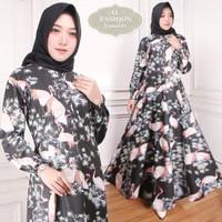 Gamis Maxi Emma 81 Baju Muslim Wanita Gamis Model Kekinian Terbaru