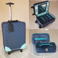 Koper Make Up Beauty Case Makeup Kotak Rias Tas Kosmetik Trolley 4 Lam