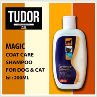 SHAMPOO Anjing Kucing MAGIC COAT CARE KONSENTRAT 200 ML - GROOMING
