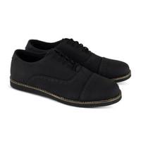 SEPATU PANTOFEL PRIA MONDAY ZEFF BLACK MONDAY FOOTWEAR 100% ORIGINAL